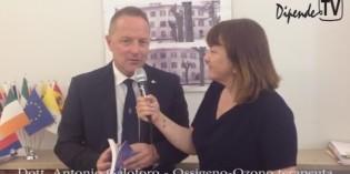 """Brescia: il Dott.Antonio Galoforo alla presentazione del libro """"Ozono respiro di vita"""""""