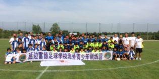 Sirmione: il primo torneo di calcio Italia – Cina