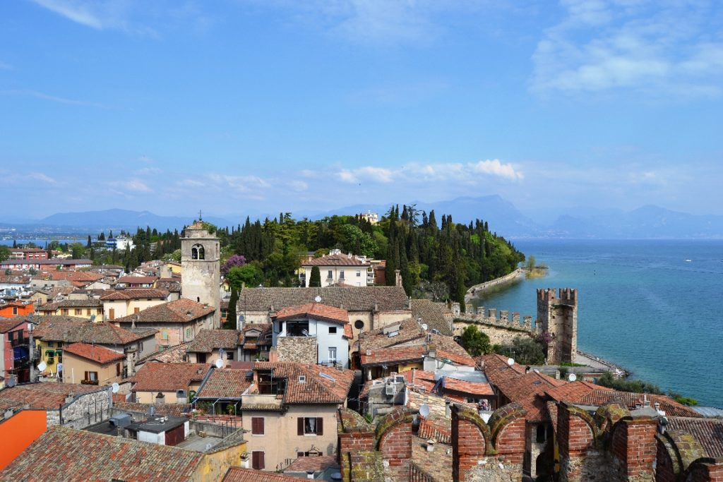 SIRMIONE - Veduta dal Castello Scaligero, foto Denise Bruscino RID