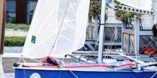Brescia: la nuova barca a Vela dell'UNI BS e Cus