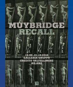 Muybridge - Locandina mostra Milano