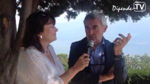 Gargnano: Francesco Cappuccini del Circolo Velico Gargnano alla presentazione della 66^ Centomiglia del Garda