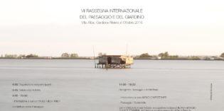 """Gardone Riviera: il 4 ottobre in scena archipaesaggio verde abitabile: """"ARCHITETTURA COME PAESAGGIO"""""""