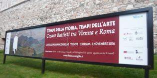 Trento – Tempi della storia, tempi dell'arte. Cesare Battisti tra Vienna e Roma