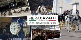Verona 10 -13 novembre: 118aFIERA CAVALLI