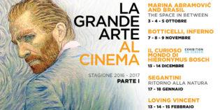 LA GRANDE ARTE AL CINEMA 2016-17