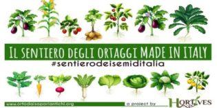 """""""Hortives il sentiero degli ortaggi Made in Italy"""": per tutelare le varietà degli ortaggi italiani"""