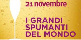Milano – I GRANDI SPUMANTI DEL MONDO