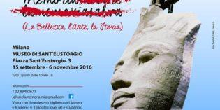 Milano – Salvare la Memoria (La Bellezza, l'Arte, la Storia)