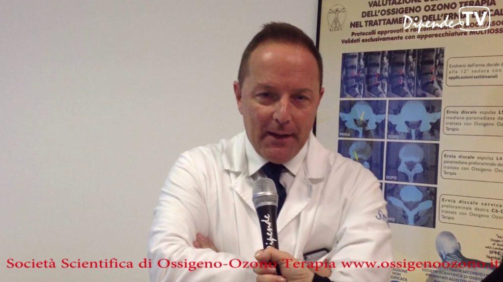 Il Dott. Antonio Galoforo presenta la Società Scientifica di Ossigeno-Ozono terapia