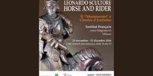 Milano – LEONARDO SCULTORE – HORSE AND RIDER