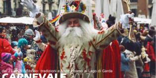 Carnevale 2017: dal 23 al 28 febbraio tradizioni e feste intorno al Lago di Garda