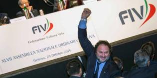 Lago di Garda, XIV ZONA VELA fiv: Domenico Foschini eletto Consigliere Federale FIV
