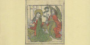 """Bergamo – L'ANGELO E LA VERGINE – Breve storia dell'iconografia dell' """"Annunciazione"""""""