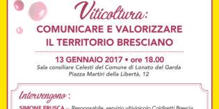 Lonato del Garda, viticoltura bresciana: il 13 gennaio incontro di Coldiretti all'interno della 59^ Fiera Agricola