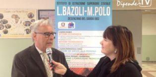 Il professor Franco Ottonelli presenta l'Istituto Bazoli-Polo di Desenzano del Garda