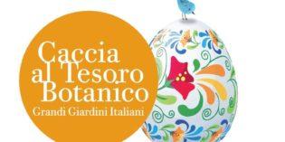 PASQUETTA: IL 17 APRILE ANCHE A BRESCIA LA CACCIA AL TESORO BOTANICO DI GRANDI GIARDINI ITALIANI