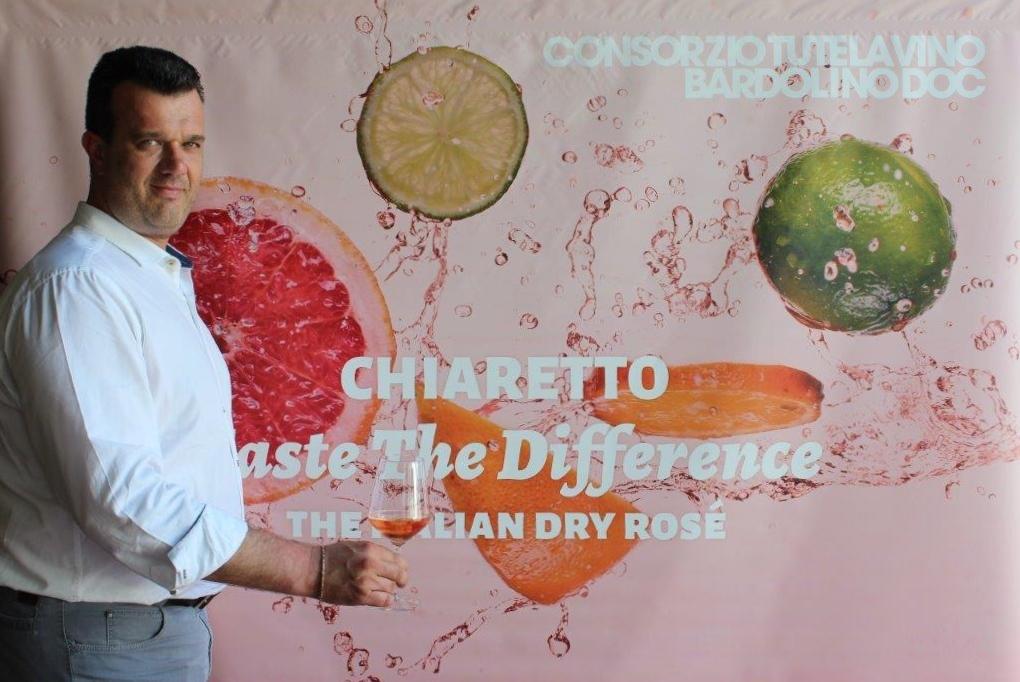 FOTO Franco Cristoforetti Presidente del Consorzio di tutela vino Bardolino - chiaretto.pink