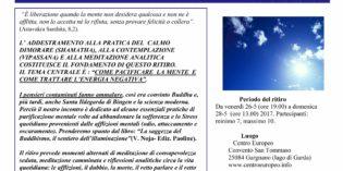 GARGNANO, dal 26 al 28 maggio MISTICA REALIZZATIVA RITIRI DI PRATICA SPIRITUALE