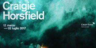 "Lugano (Svizzera-Canton Ticino) – CRAIGIE HORSFIELD – ""Of The Deep Present"""