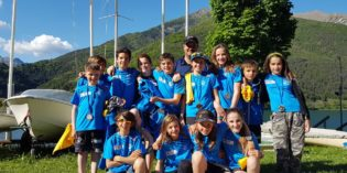 Lago di Garda, Fraglia Vela Riva: bel week end di regate e podi per le squadre Optimist e Laser