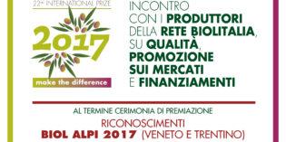 Puegnago del Garda, 17 giugno: INCONTRO CON I PRODUTTORI DELLA RETE BIOLITALIA, SU QUALITÀ, PROMOZIONE SUI MERCATI E FINANZIAMENTI