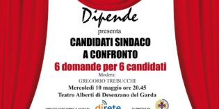 Desenzano del Garda: dibattito con i sei Candidati Sindaco a confronto