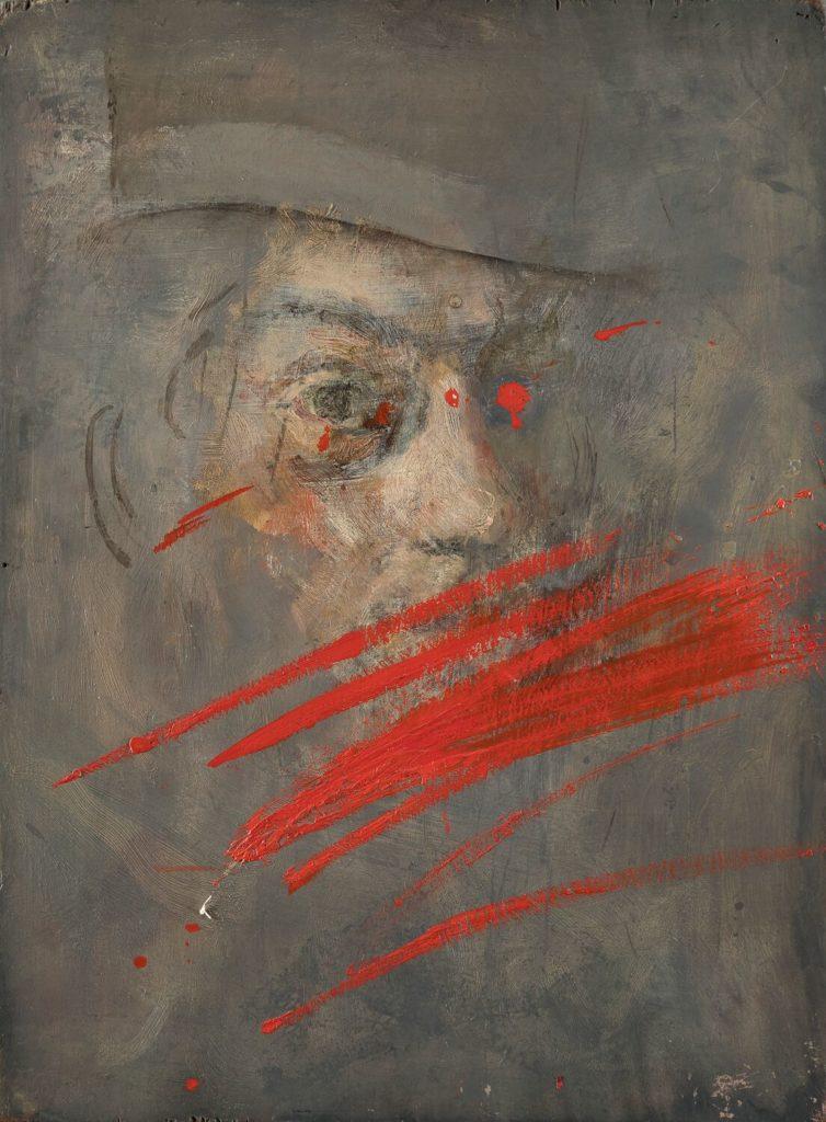 1 - Giancarlo Vitali.Pausa.1951-2001.olio_su_tavola(39,5x29,5cm)