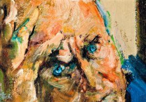 1b - Giancarlo Vitali - Ritratto a Testori, olio su tela, 1986