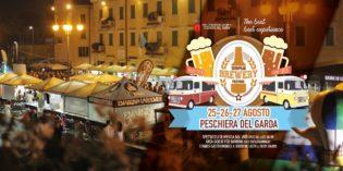 """Peschiera del Garda: dal 25 al 27 agosto la terza edizione dell'""""European Brewery Festival"""""""
