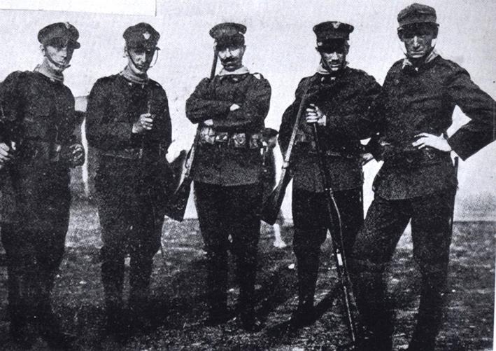 1915 Boccioni, Piatti, Marinetti, Sironi e Sant'Elia small
