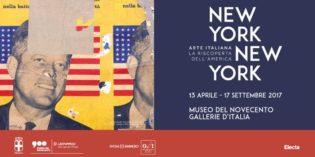 """Milano – """"NEW YORK NEW YORK. Arte Italiana: la riscoperta dell'America"""""""