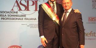 Milano – Milano – GABRIELE DEL CARLO E' IL MIGLIOR SOMMELIER D'ITALIA ASPI 2017