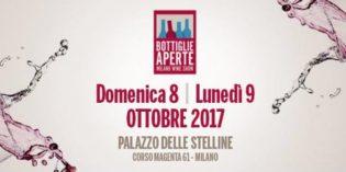 """Milano – """"BOTTIGLIE APERTE"""" 2017"""