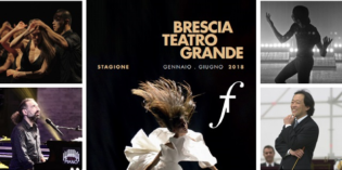 Brescia: cartellone teatrale del Grande