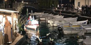 Renne subacquee a Desenzano: il video dell'evento diventa virale