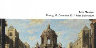Vienna – Dorotheum Vienna – Antichi maestri, Dicembre 2017