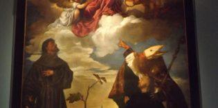 """Milano – TIZIANO – """"SACRA CONVERSAZIONE 1520"""""""