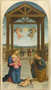 Perugino - Adorazione dei pastori 1