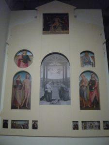 Perugino - Adorazione dei pastori 5