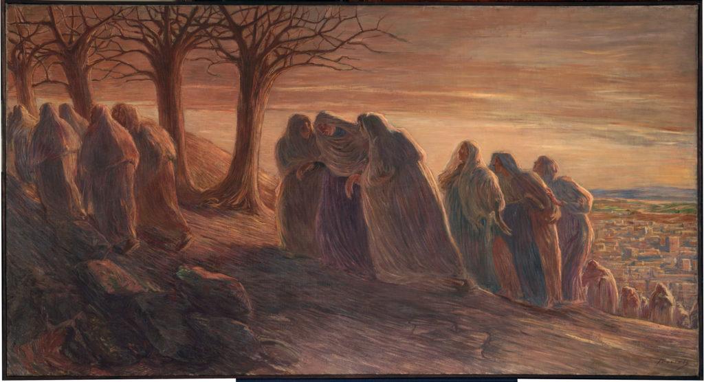 Previati - Via Crucis 1