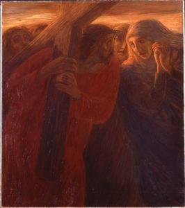 Via Crucis:  Incontro con Maria Vergine. Inv 23470 dr