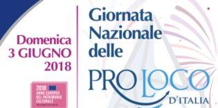 3 giugno, Prima edizione della Giornata nazionale delle Pro Loco d'Italia: custodi di cultura e tradizioni