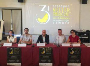 Conferenza stampa Mueller Thurgau Vino di Montagna