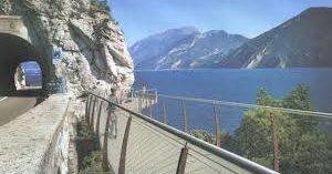 Inaugura il 14 luglio la nuova pista ciclabile a picco sul Lago di Garda