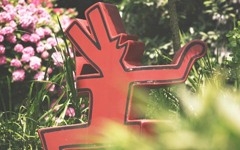 Keith Haring a Heller Garden di Gardone Riviera
