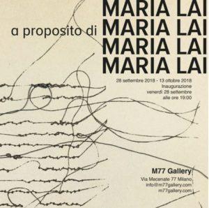 Maria Lai - 01