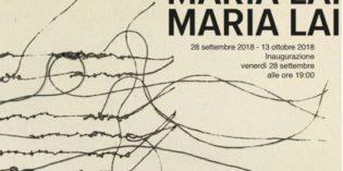 Milano – A proposito di MARIA LAI