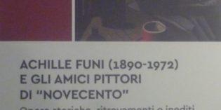 """Milano – ACHILLE FUNI (1890-1972) E GLI AMICI PITTORI DI """"NOVECENTO"""""""