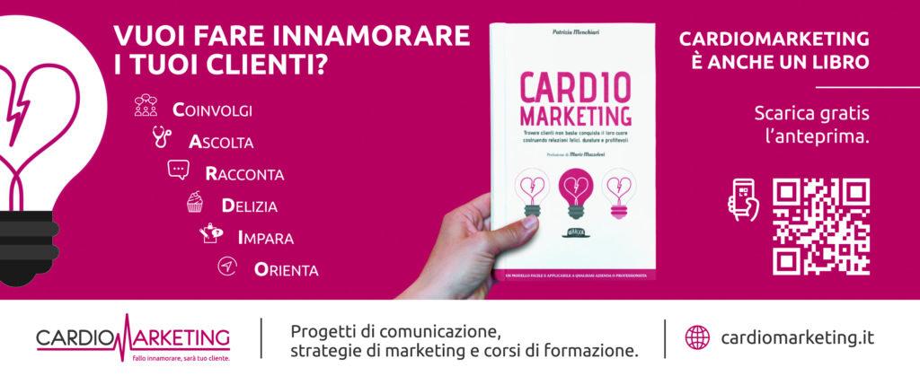 cardio marketing. libro di Patrizia Menchiari